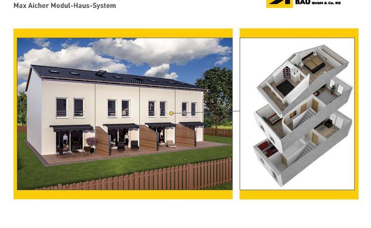 max aicher modul haus system. Black Bedroom Furniture Sets. Home Design Ideas