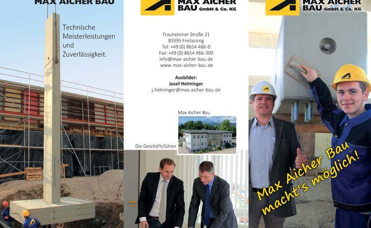 Maxaicherbau Azubiflyer2015 Bild Seite 1