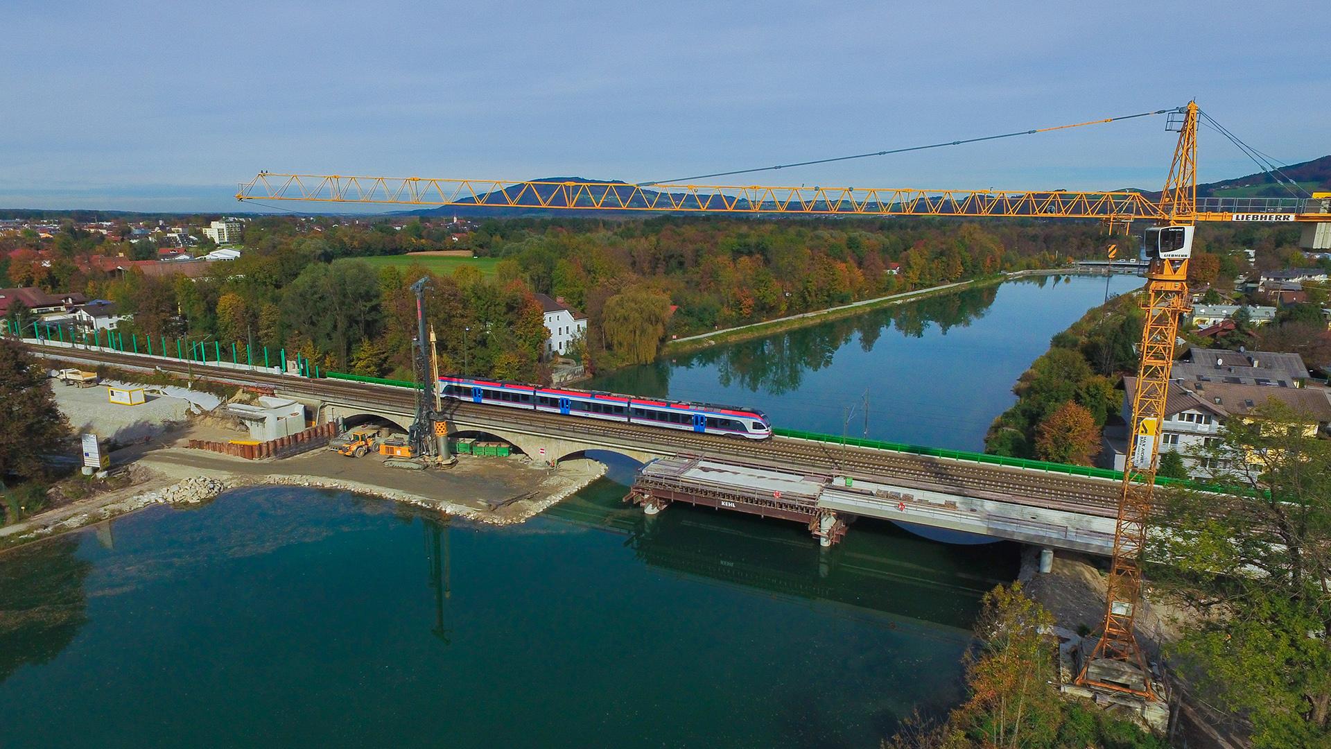 3-gleisiger Ausbau Freilassing-Salzburg
