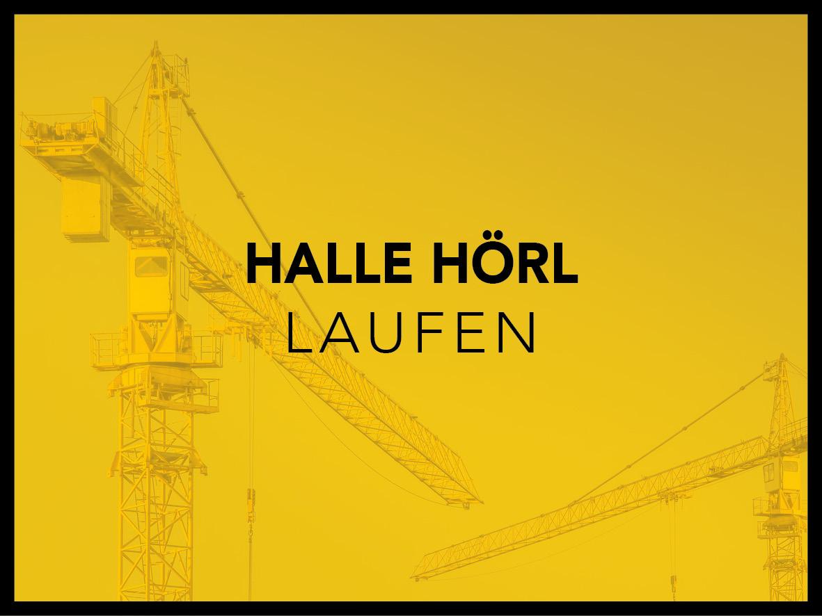 Halle Hörl Laufen