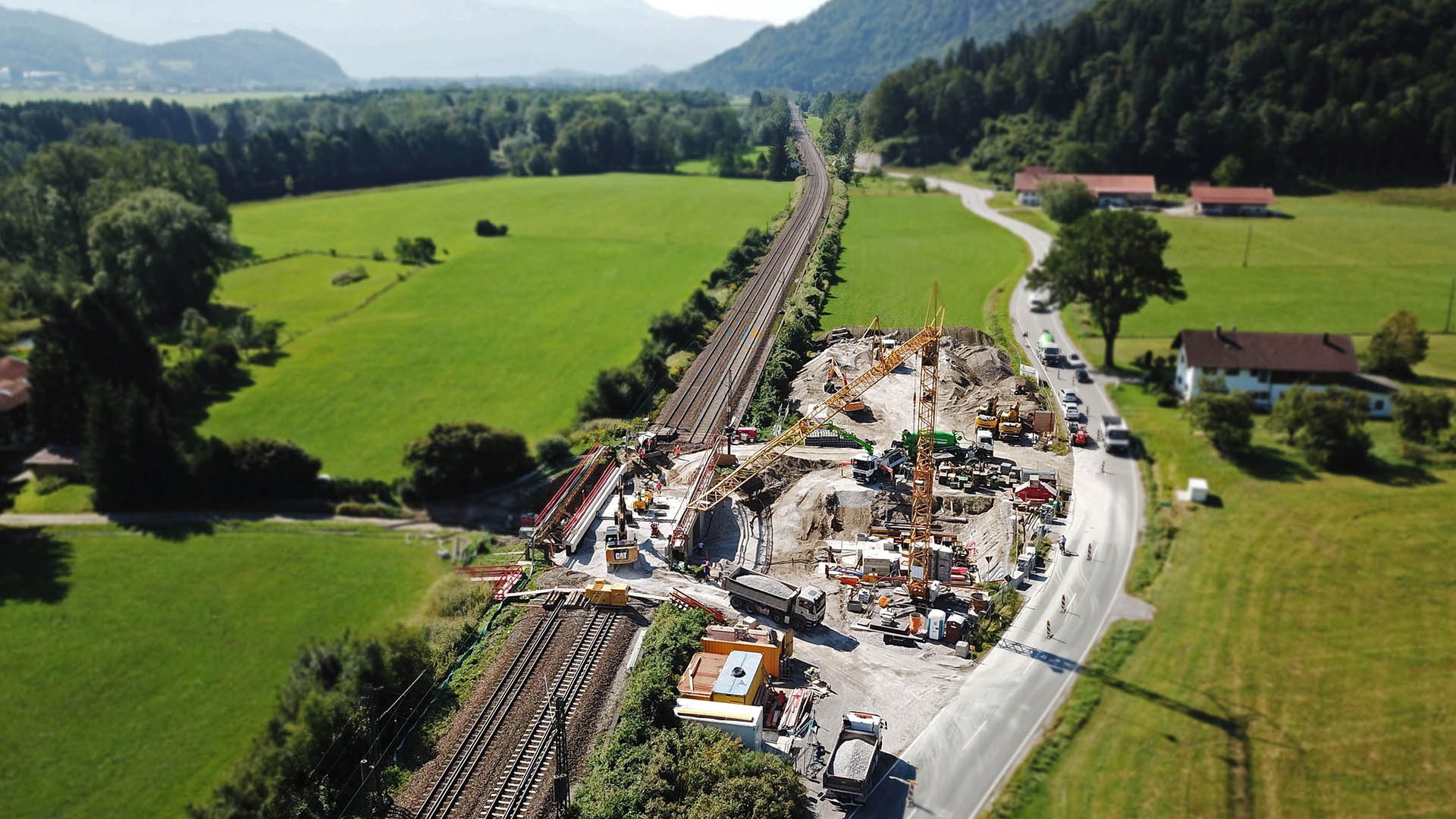 Brücke Feldweg Fischbach