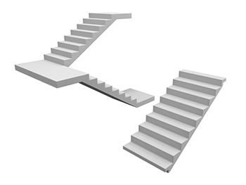 Hochbau Treppenlauf